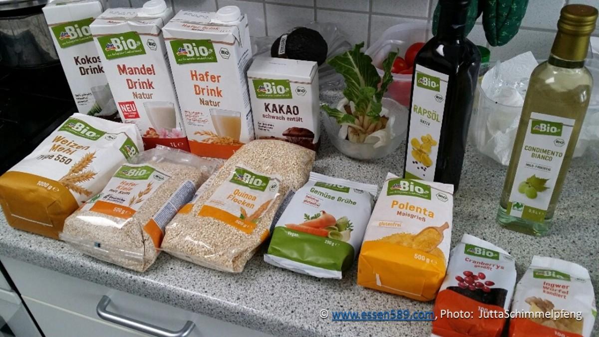 Bio-Vorräte aus dem dm-Markt